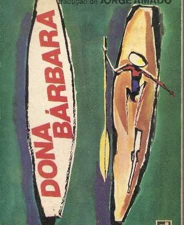 Capa do livro Dona Bárbara de Rómulo Gallegos