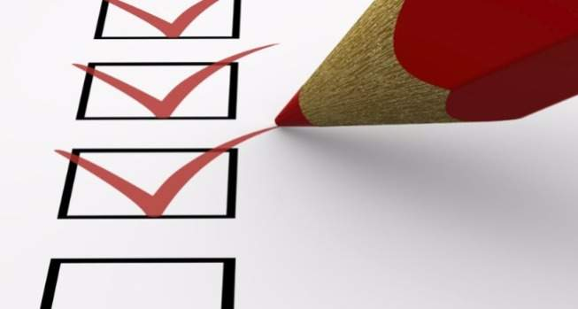 Imagem de uma lista de tarefas