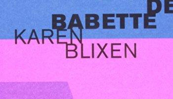 Capa de A Festa de Babette Karen Blixen Cosac Naify