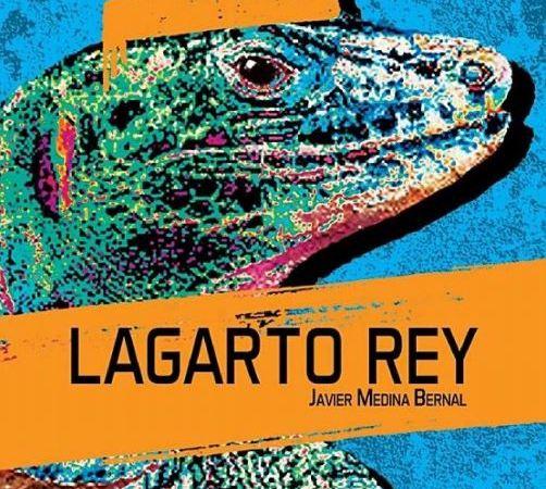 Capa do livro Lagarto Rey de Javier Medina Bernal