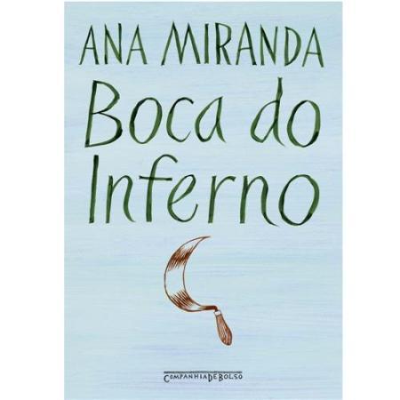 Capa do livro Boca do Inferno da escritora brasileira Ana Miranda