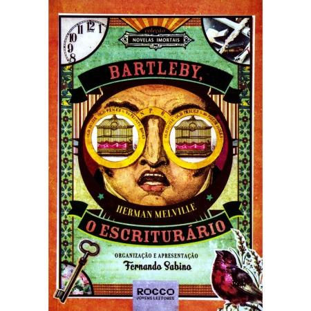 Capa do livro Bartleby, o Escriturário de Herman Melville