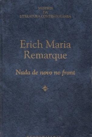 Capa do livro Nada de Novo no Front